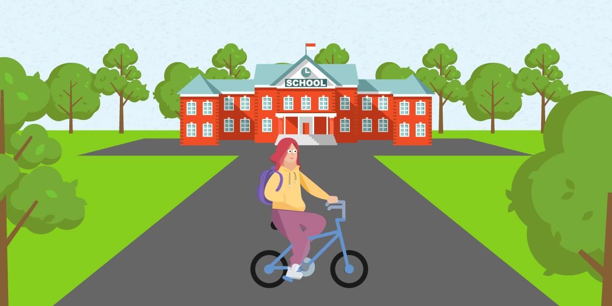 Tidak Hanya Bike to Work, Kamu Juga Bisa Bike to School