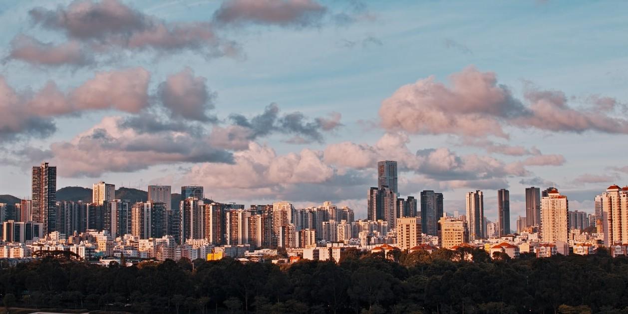 Shenzhen Skyline. Why I love Shenzhen