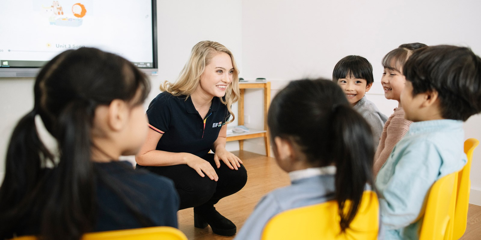 Teach English in China with EF