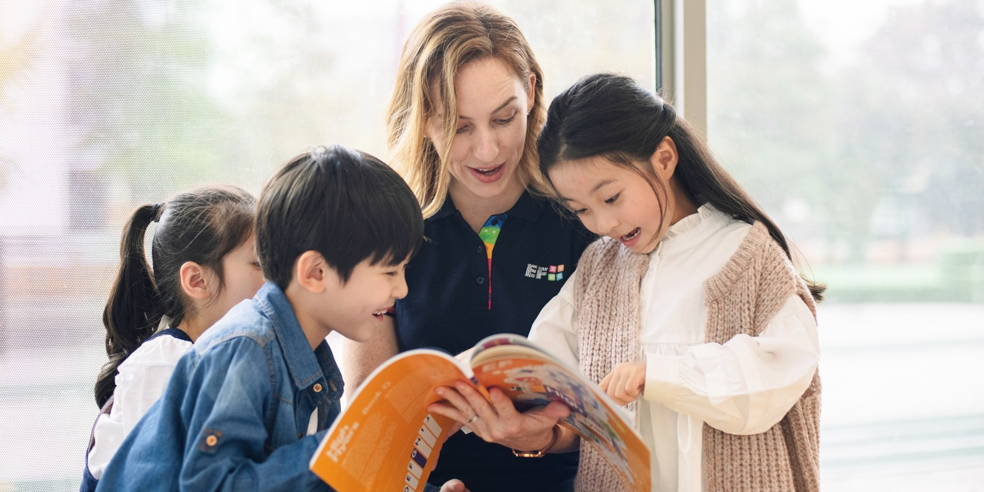 Teach English at EF English First