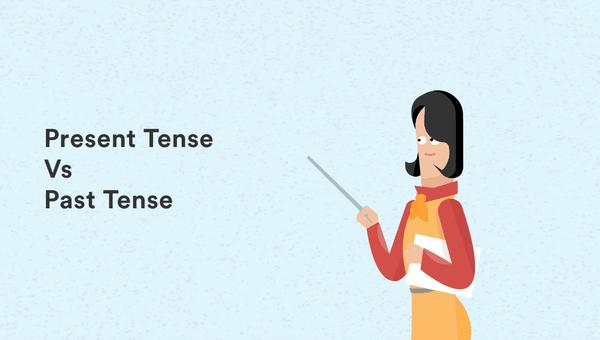 perbedaan present tense dan past tense