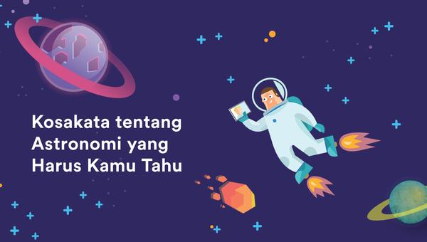 kosakata astronomi dalam bahasa inggris