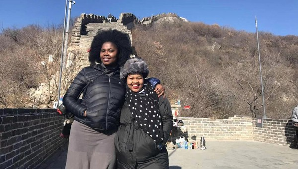 FAMILY VISITS YOU IN CHINA