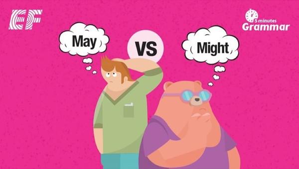 perbedaan may dan might