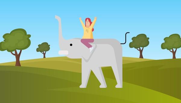 naik-gajah