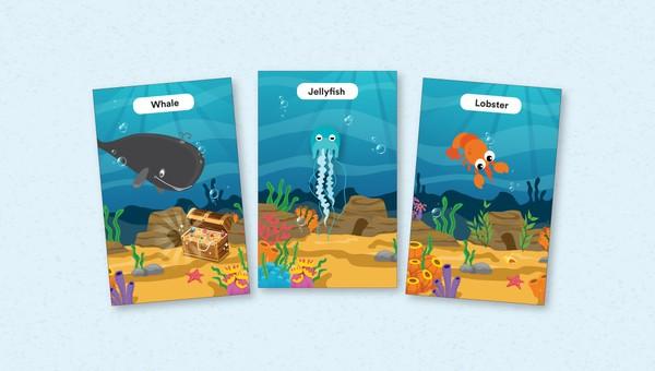 nama hewan laut bahasa inggris
