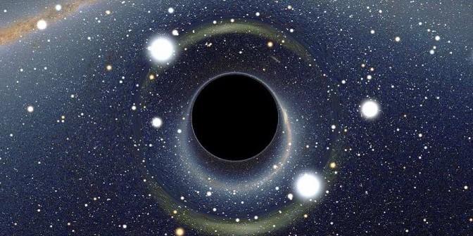 Почему черные дыры так называются