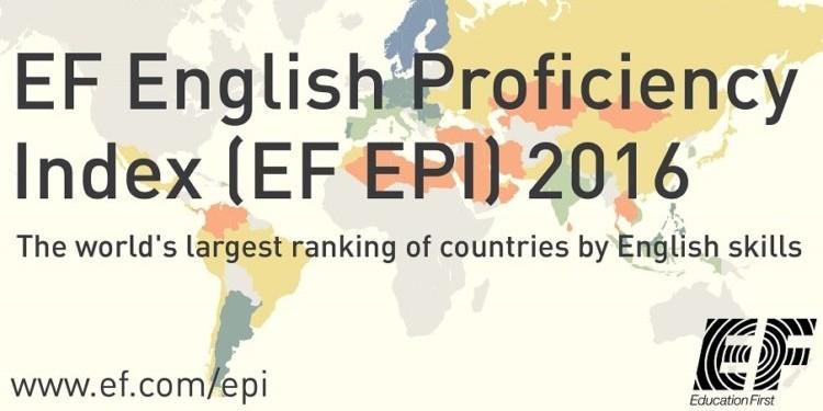 Знаете ли вы, на каком месте Россия по уровню владения английским?