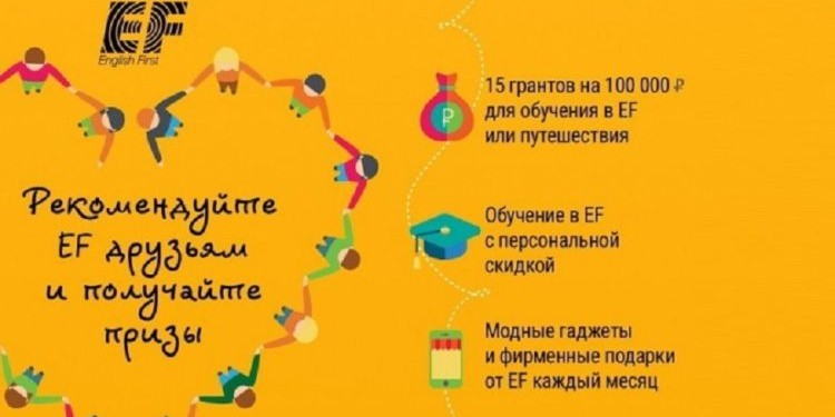 Победители программы «Учи английский вместе с друзьями» в октябре