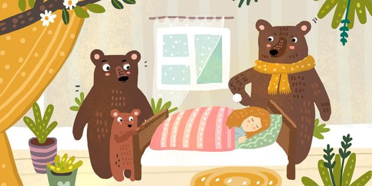 Сказки на ночь: Три медведя