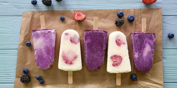 Рецепт: фруктовый лед на палочке