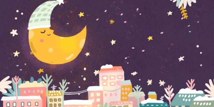 Сказки на ночь: Как появилась луна?