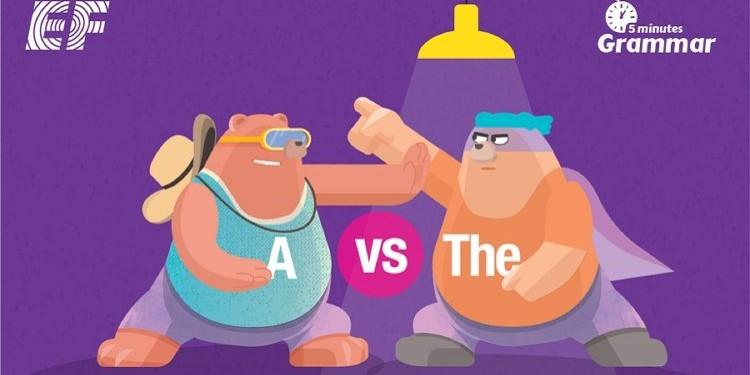 """Когда нужно использовать """"a/an"""", а когда """"the"""""""