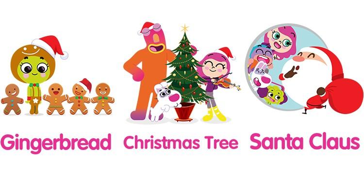 Обучающие карточки: Рождество