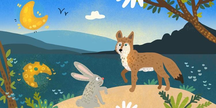 Сказки на ночь: Кролик и кайот