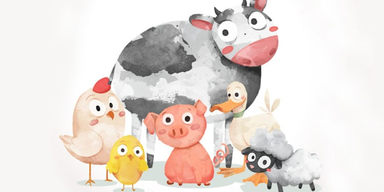 Farm animals | Животные на ферме