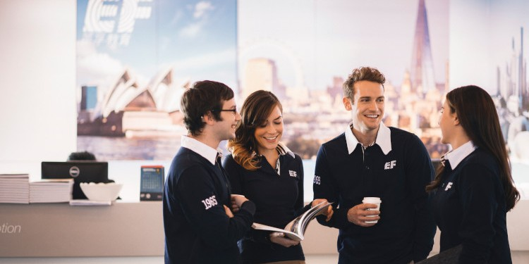 10 THINGS THAT MAKES EF THE TOP PLACE TO WORK